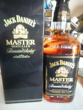 old type Jack Daniels   Master Distiller 750ml 45% .  with old box