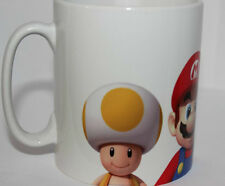 Custom super mario and luigi mushroom toad mug cup
