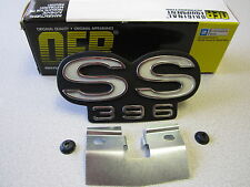 67 1967 CHEVELLE SS396 GRILL EMBLEM NEW GM LISCENED OER EXCELLENT QUALITY