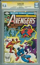 Avengers 220 CGC 9.6 SS Brett Breeding ONLY SS on Census stands alone White Page