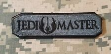 JEDI MASTER ARMY TAB MILITARY TACTICAL USA MORALE ACU DARK VELKRO BADGE PATCH