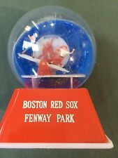 """60s Boston Red Sox Fenway Park 4"""" See-saw Plastic Water Snow Globe"""
