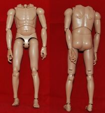 "Male Nude 1/6 scale 12"" Action Figure Man. Hot Toys Type Body. Dragon BBI"