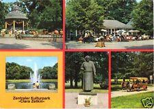 """AK, Leipzig, Zentraler Kulturpark """"Clara Zetkin"""", fünf Abb., 1978"""