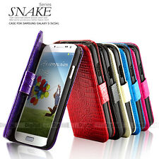 5 COLOR SANKE Wallet Stand Leather Case Cover FOR SAMSUNG Galaxy S4 S IV I9500