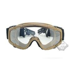FMA DE Paintball Airsoft Protective Glasses Ballistic-Goggle For Helmet