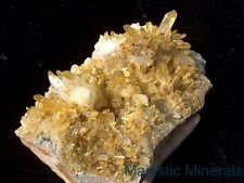 TOP CHOICE DISPLAY____HUGE OPTICAL CLEAR Arkansas Quartz Crystal Cluster