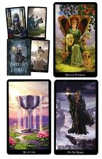 Witches Tarot NEW Sealed 78 Color Cards 312 page Book Pagan Symbols Divination