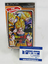 DRAGON BALL Z SHIN BUDOKAI 2 PSP ESSENTIALS NEUF NEW SEALED