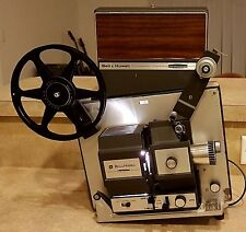 VINTAGE WORKING BELL & HOWELL 456A AUTOLOAD 8 MM & SUPER 8 FILM MOVIE PROJECTOR