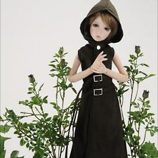 DOLLMORE 1/4BJD clothes coat MSD SIZE - Long Susa Waistcoat (Ch-Brown)