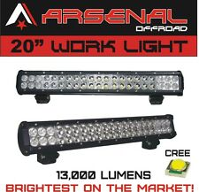 "#1 20"" Dual Row High Power 126w Cree Xb-d SMD Work Light Bar by Arsenal Offroad"