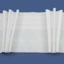 Rufflette DEEP Tridis Pinch Pleat Curtain Tape/Fabric (sold by the metre) 138mm