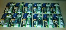12 Figure Star Wars Princess Leia Episode I Flashback Action Lot R2-D2 POTF MOC