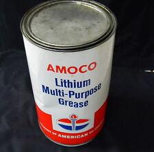 STANDARD AMERICAN OIL COMPANY  AMOCO LITHIUM MULTI - PURPOSE GREASE 10 LB TIN -