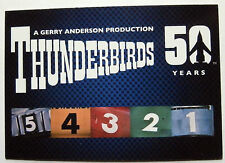 Thunderbirds 50 ans-card #1 - gerry anderson-imparable cartes ltd 2015