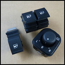Spiegelschalter Schalter Außenspiegel Fensterheber Knopf set 3 für VW Passat B6