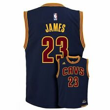 (2016-2017) Cleveland Cavs LeBRON JAMES nba Jersey YOUTH KIDS BOYS (xl)