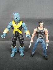 Marvel Universe 3.75inch loose Beast X-men and Wolverine
