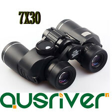 Portable Fully Coated Sports 7x30 Binoculars Camping Outdoor Best for Christmas