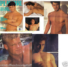 PLAYGIRL 4-92 APRIL 1992 HUGE KRIS LORD! CHILI PEPPERS TOMMY LUCIDO ALEX KEITH