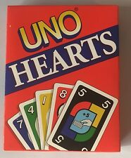 UNO Hearts Card Game New Sealed Mattel 1995