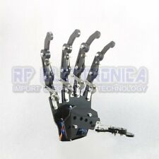 DIY 5DOF Robot Five Fingers Metal Mechanical Paw Left and Right Hand