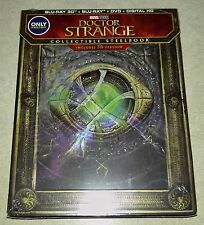 New Marvel Doctor Strange 3D+2D Blu-ray DVD Steelbook Bestbuy Exclusive USA