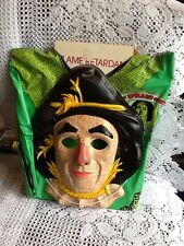 Vintage Wizard of Oz Scarecrow Costume, 50th Ann., 1989, MOC!  TV Memorabilia