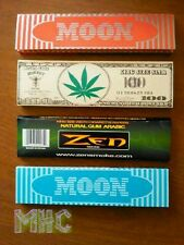 4 Book Variety Set! King Size Cigarette Rolling Papers!