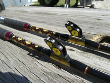 Coastal Rods -Pair of New 80lb Hollow Saltwater Roller Fishing Rod - Set of 2