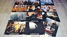 AMISTAD ! steven spielberg jeu 12 photos cinema lobby card