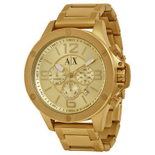 Armani Exchange Men's AX1504 Chronograph Gold-Tone Stainless steel Watch