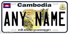 Cambodia Any Name Personalized Novelty Car License Plate A1
