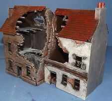 28mm Scale Wargaming Terrain 2 Terrace House Ruin