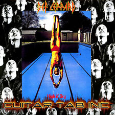 Def Leppard Guitar Tab Tablature HIGH 'N' DRY Lessons on Disc