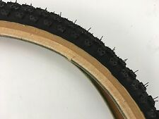 "CHENG SHIN COMP3 TYRE PAIR THIN/THIN 20"" x 1.75"" - RALEIGH BURNER OLD SHOOL BMX"