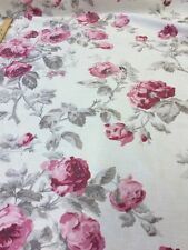 Laura Ashley - By The Metre Of Rose Cassis velvet fabric, boutique style