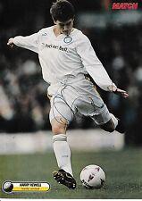 Harry Kewell Leeds United 1996-2003 Original Firmada A Mano Revista De Corte