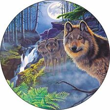 Wolf # 2 - Custom Spare Tire Cover - Wheel Cover