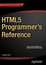 HTML5 Programmer's Reference by Jonathan Reid (2015, Paperback, New Edition)