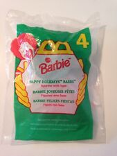 NIP 1996 McDonalds Happy Meal Toy HAPPY HOLIDAYS BARBIE