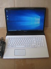 pc portable sony vaio SVE171G11M  SVE1712C1EW  17 pouces  windows 10