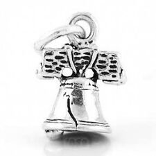 STERLING SILVER 925 3D LIBERTY BELL CHARM/PENDANT