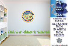 Under the sea port hole wall sticker Childrens Bedroom decor large
