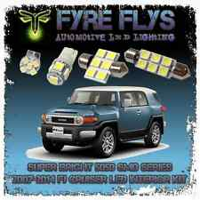 6x 5050 Series Interior LED Light Bulbs Package Kit for 07-14 FJ Cruiser - White