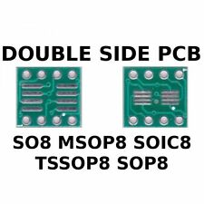 PCB SO8 MSOP8 SOIC8 TSSOP8 SOP8 to DIL ADAPTER