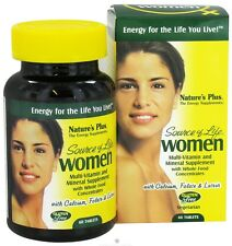 Nature's Plus Source of Life women Multi-Vitamin and Mineral - 60 tablets