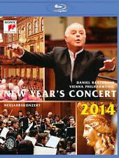 New Year's Concert: 2014 - Vienna Philharmonic (Barenboim) Blu-ray NEW