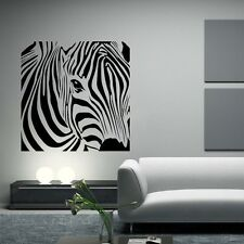 Zebra Wall Sticker Decorative Stickers Animal Decor Modern Removable Decal Walls